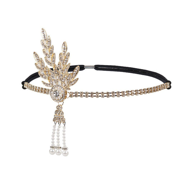 1920s Great Gatsby Inspired Flapper Headband for Party