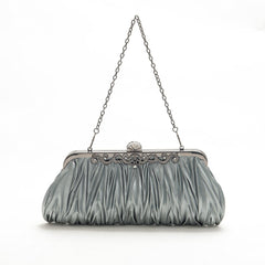 Silk Cocktail Evening Handbags/ Clutches Purse