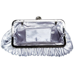 Satin Pleated Evening Cocktail Party Handbag Clutch Purse |JaosWish