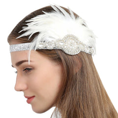 Flapper Fascinator Headbands 1920S Great Gatsby