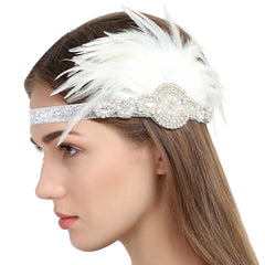 Flapper Girl Accessories 1920s Great Gatsby Headpiece