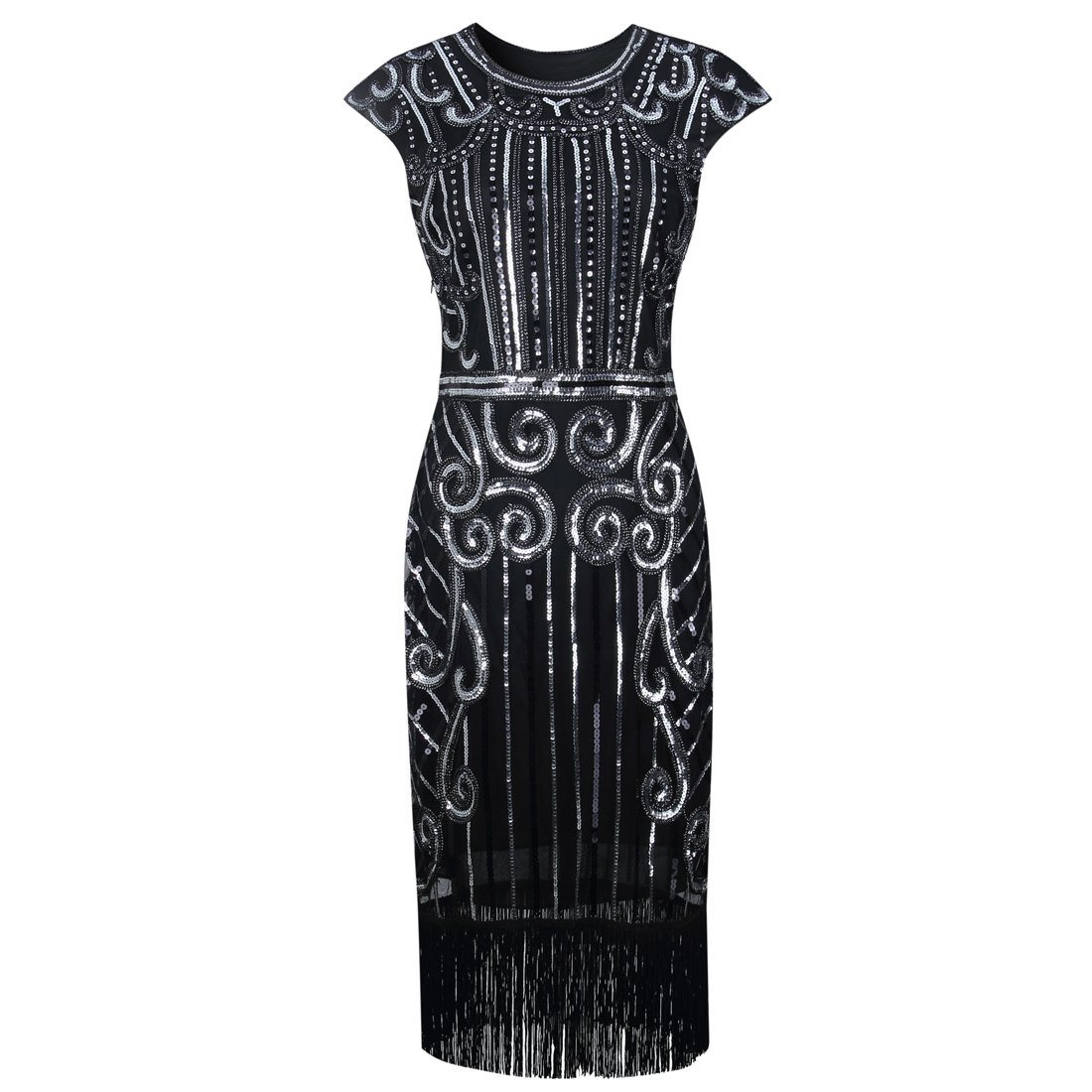 Great Gatsby Dresses Sequin Beaded Fancy Dress 20's Themed Party