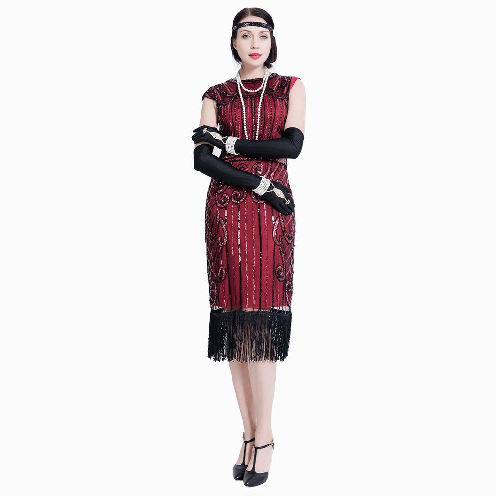 Great Gatsby Fancy Dress 1920s Fashion Women 20\'s Themed Party ...