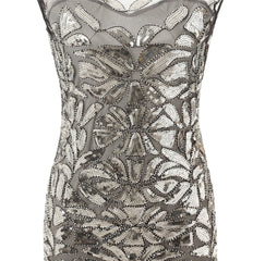 1920s Style Flapper Long Dresses Great Gatsby