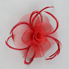 Mesh Net Fascinator Hair Clip Hat Party Wedding