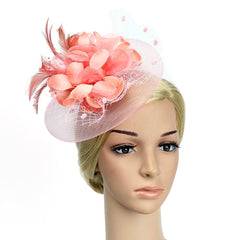 Pink Hair Fascinator Hat Occasion Hats and Fascinators Derby Hat