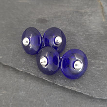 Birthstones in Glass Collection - Cufflinks a Cufflinks from A Little Trinket