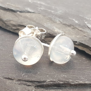 Birthstones in Glass - Lucy Stud Earrings a Earrings from A Little Trinket