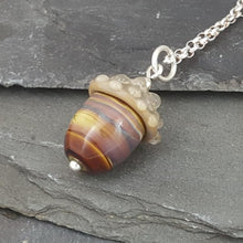 Flora Collection - Acorn Necklaces a Necklace from A Little Trinket