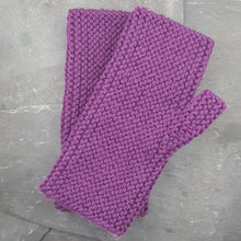 Handknitted Cashmere Wrist Warmers - Jewel Tones a Wrist Warmers from A Little Trinket