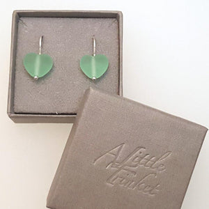 Harmony Collection - Cora Heart Earrings a Earrings from A Little Trinket