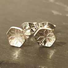 Little Snowflake or Flower Stud Earrings a Earrings from A Little Trinket