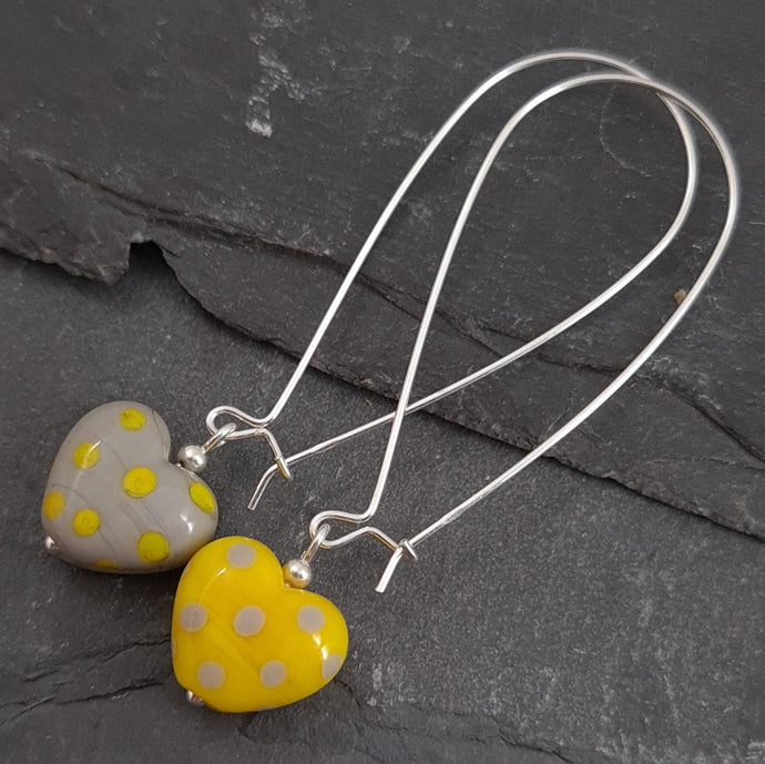 Polka Dotty Collection - Heart Earrings 2021 Limited Edition a Earrings from A Little Trinket