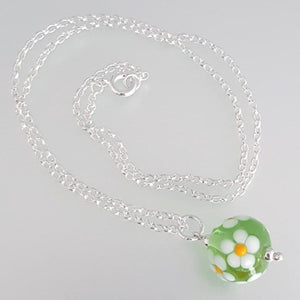 Posy Necklace - Daisy a Necklace from A Little Trinket