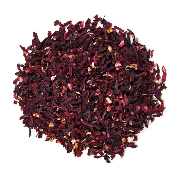 Pure Rosella Hibiscus Fine Cut Loose Tea Leaves- 80g