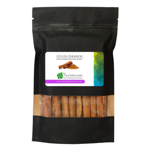 Natural Pure Ceylon Cinnamon Quills / Sticks / Scroll - 100g