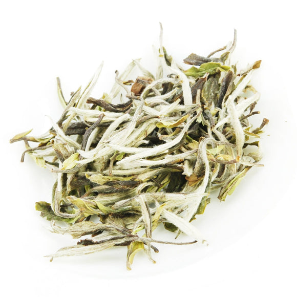 Pure White Tea Leaves (Silver Tips) from Ceylon - 150g
