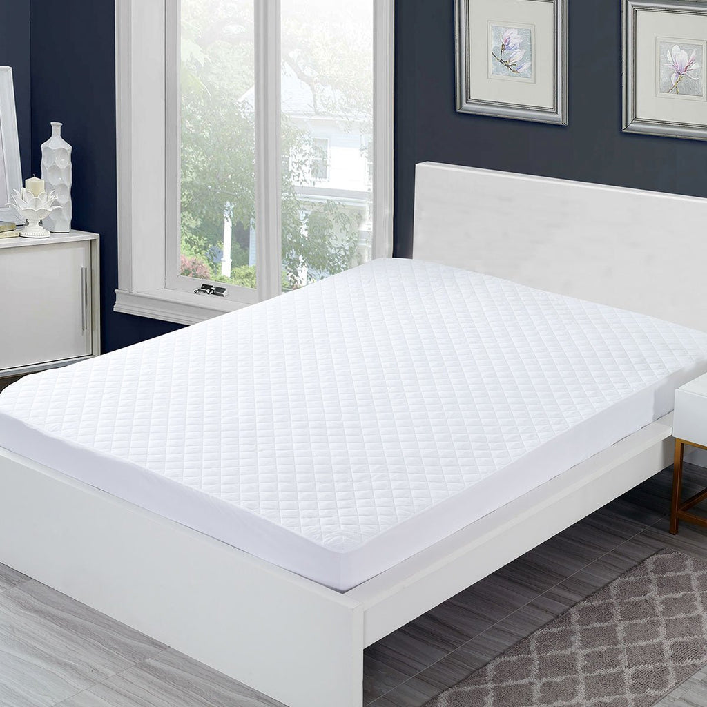 Hypoallergenic Waterproof Fitted Mattress Protector/Pad - Grover Essentials