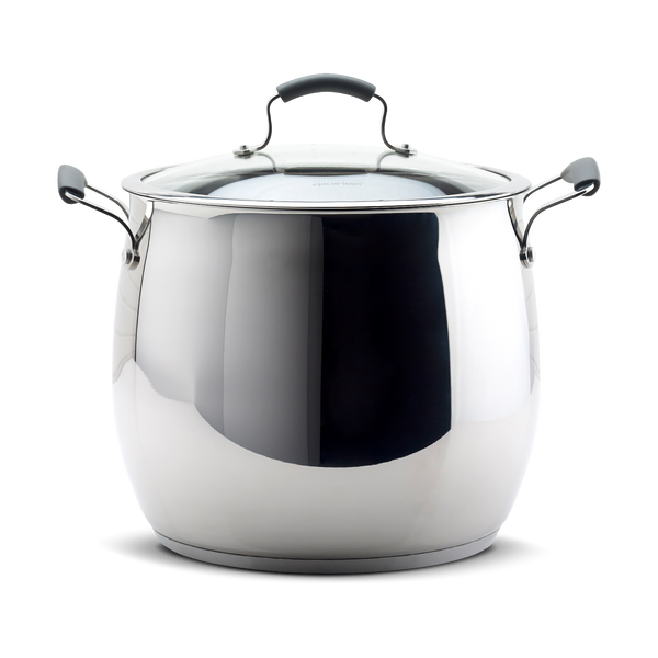 18qt Covered Stock Pot