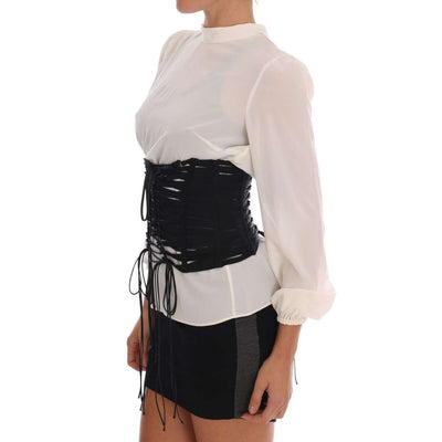 Black Stretch Corset Belt