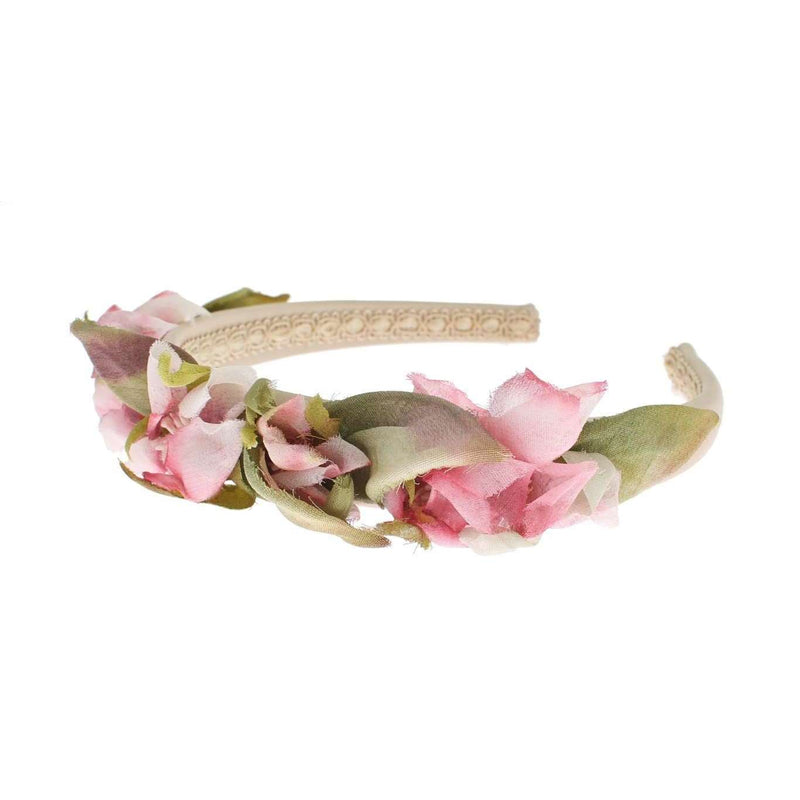 Silk Floral Catwalk Headband