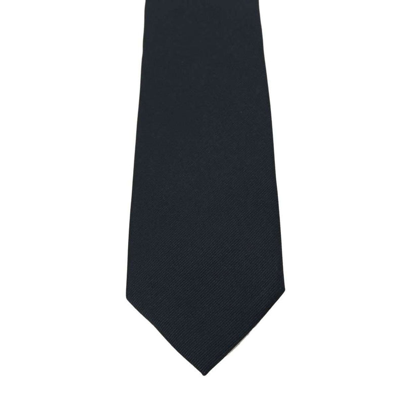 Blue Silk Solid Wide Tie