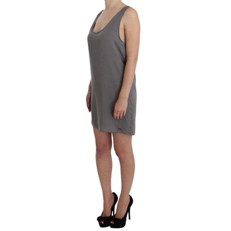 Gray Stretch Shift Lingerie Dress