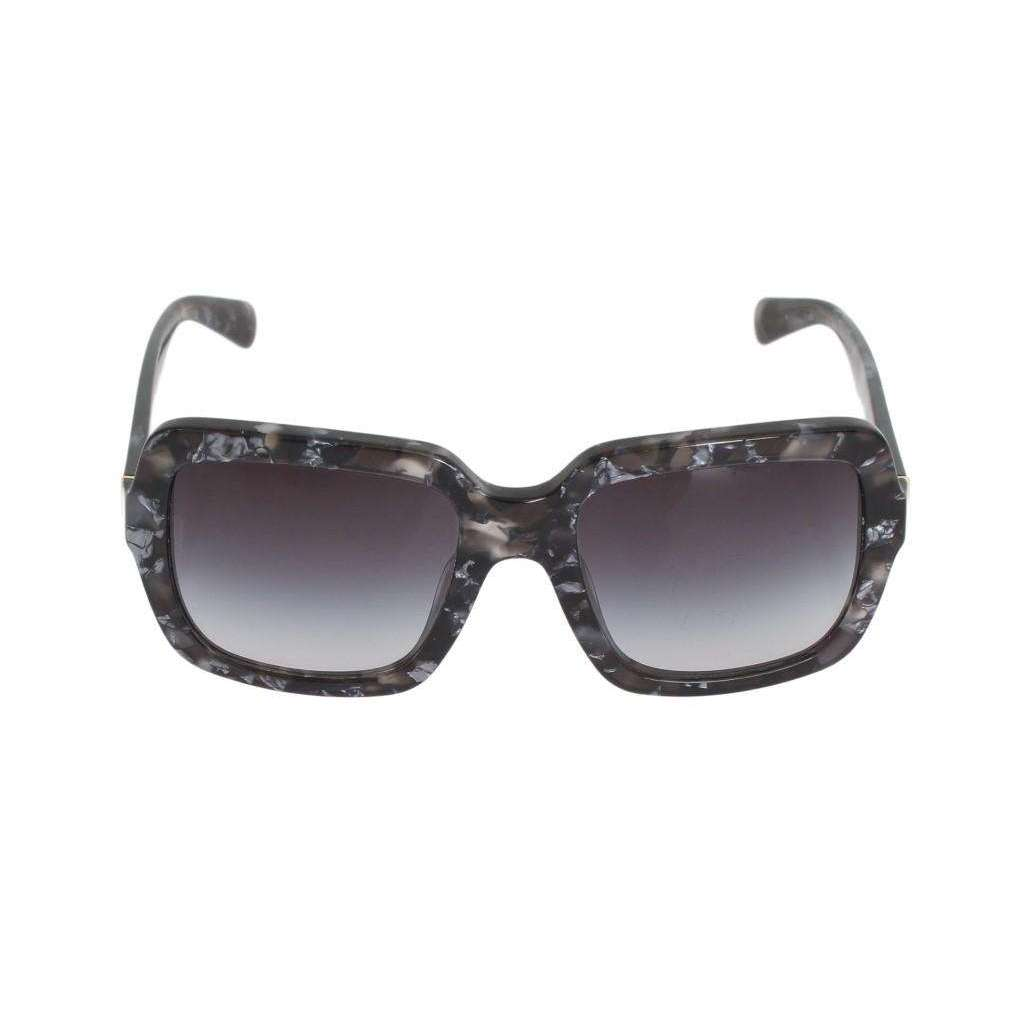 Black Gray Pattern DG4273 Sunglasses