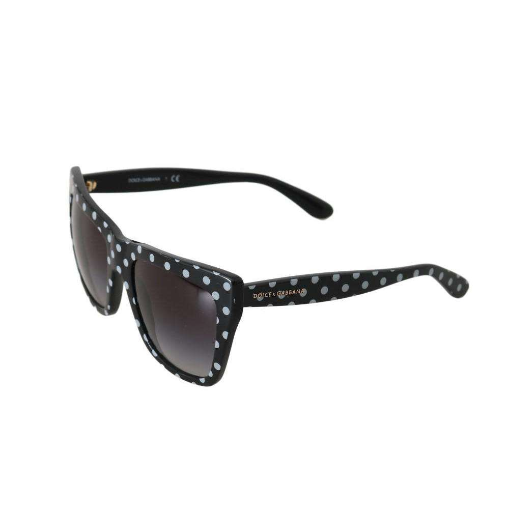 Black Gradient Polka Dot Sunglasses