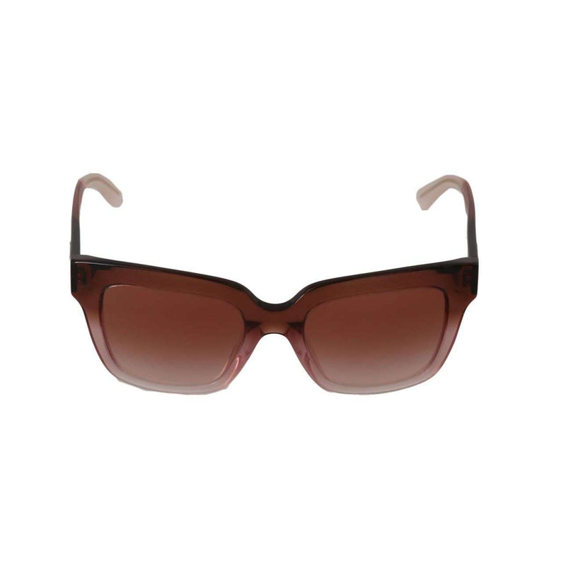 Pink Square Logo Sunglasses