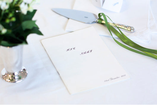 Your guide to wedding etiquette and stationery