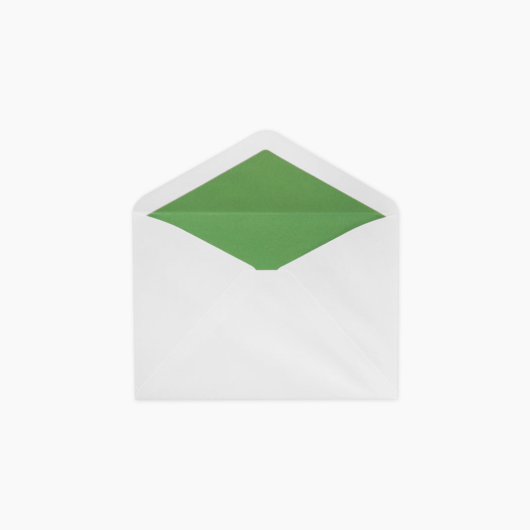 Lined Envelopes - Bottle Green