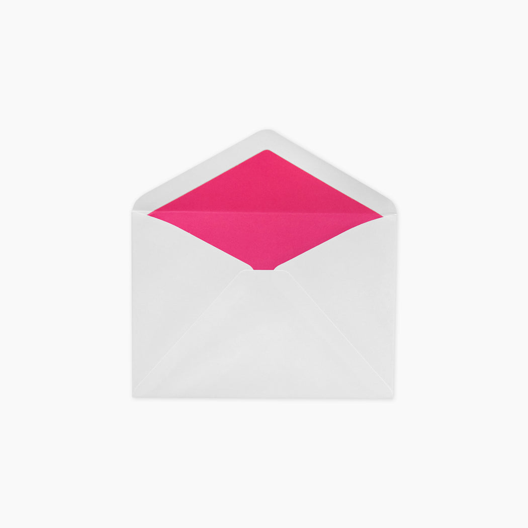 Lined Envelopes - Pink