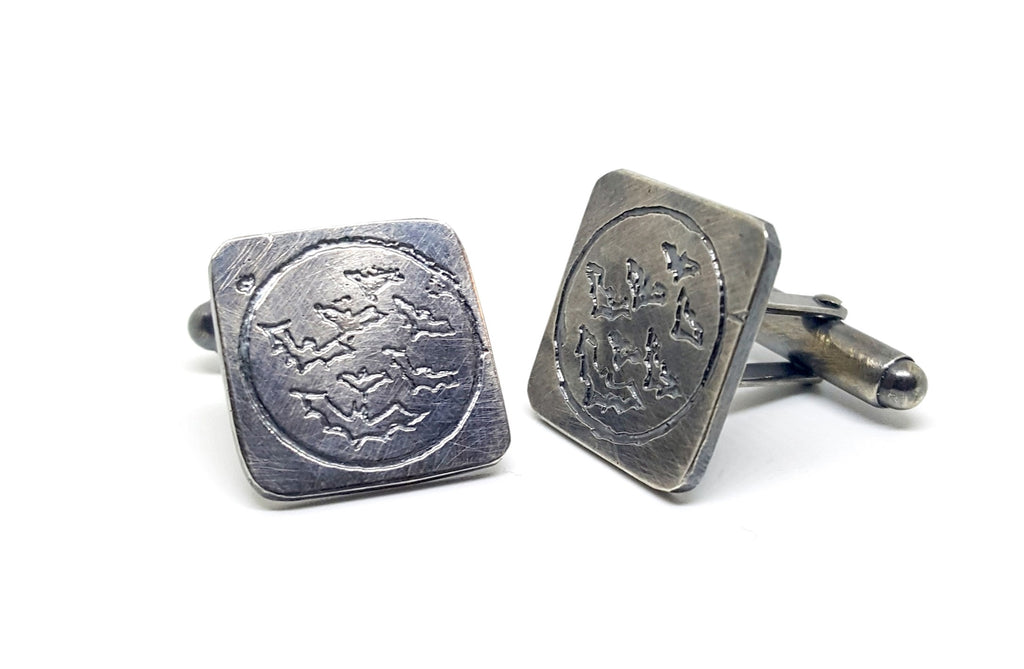 Midnight Bat Cufflinks