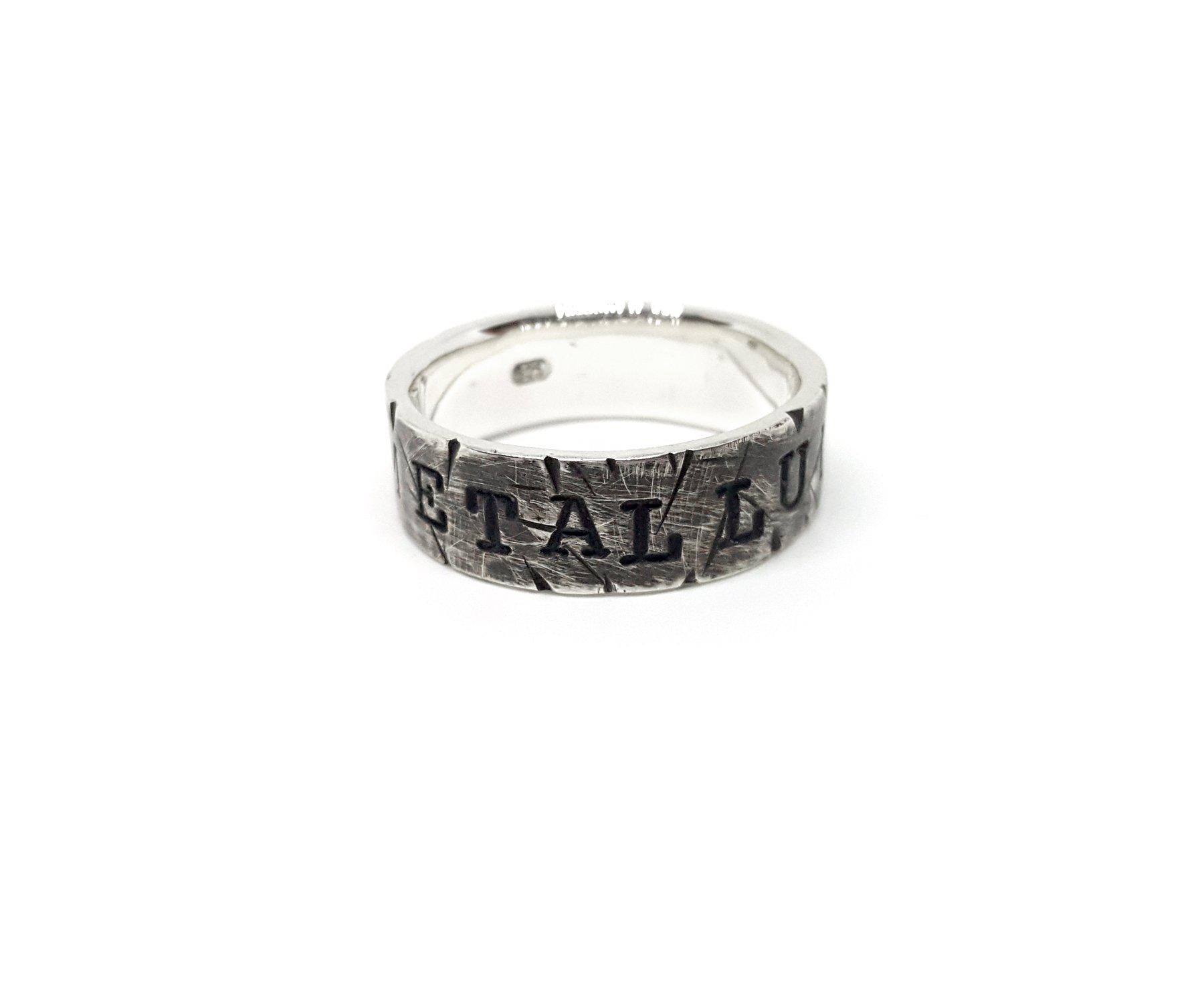 Grave Metallum Ring