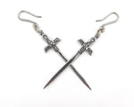 Excalibur Earrings Silver