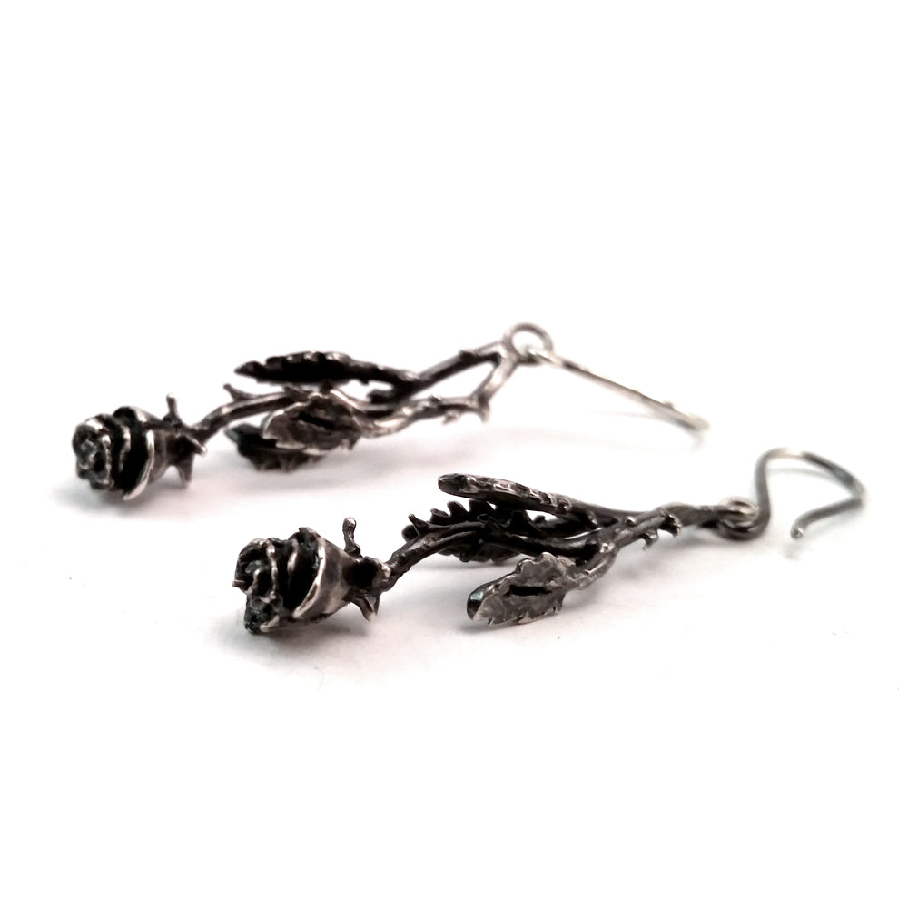 Sinful Rose Earrings
