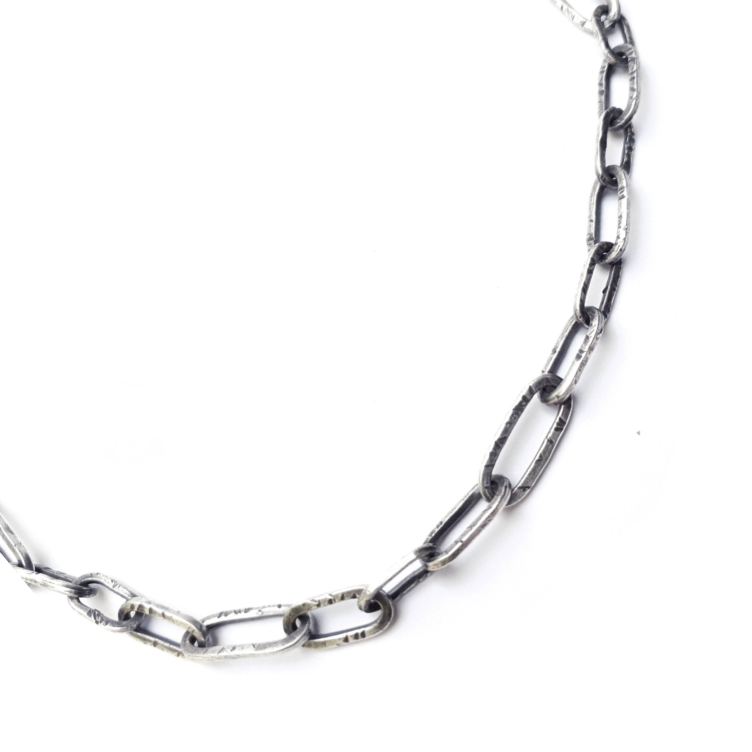 Thrashed Chain Necklace