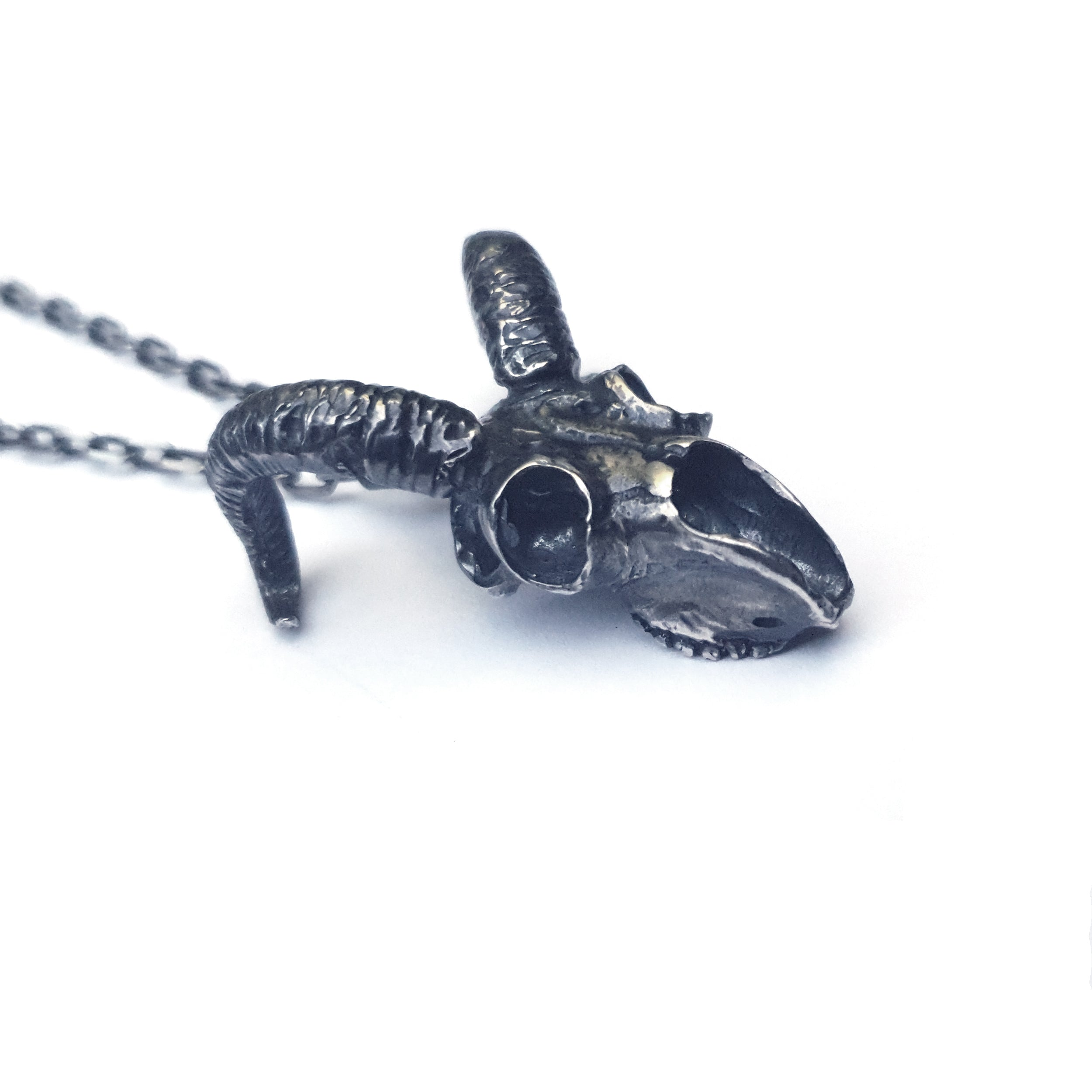 Ram Skull Necklace