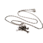 Skull and Cross Bones Necklace