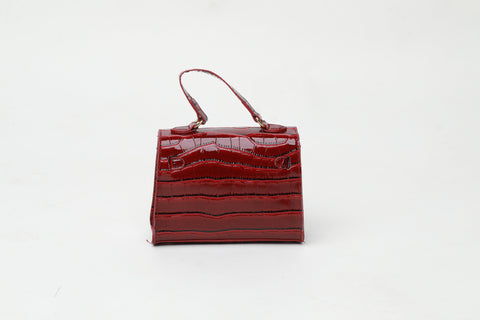Nina Red Crossbody Bag