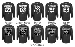 Load image into Gallery viewer, Customize Your Branded Jersey - Custom Font