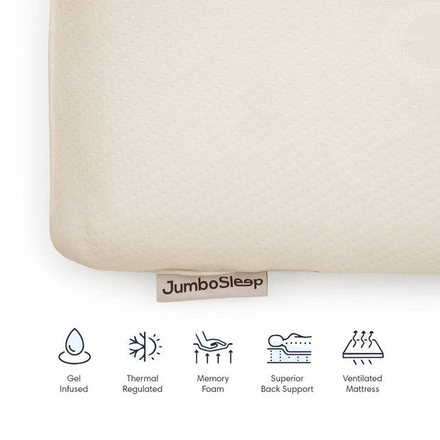 Jumbo Memory Foam Pillow