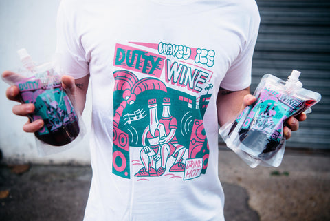 Dutty Wine tee & pouch deal
