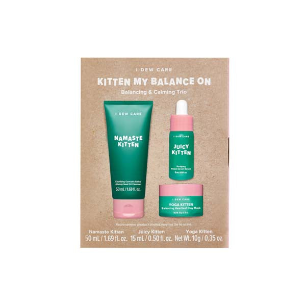 [I DEW CARE] Kitten My Balance On