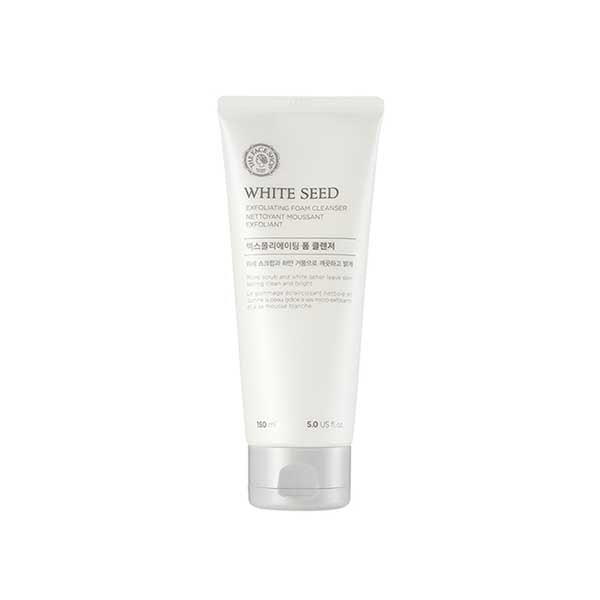 [THE FACE SHOP] White Seed Exfoliating Foam Cleanser 150ml