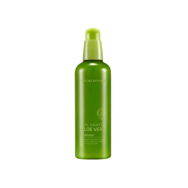 NATURE REPUBLIC Emulsion & Lotion [Nature Republic]  Real Squeeze Aloe Vera Emulsion 125ml