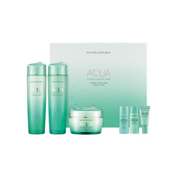NATURE REPUBLIC [Nature Republic]  Super Aqua Max Watery Skin Care Special Set