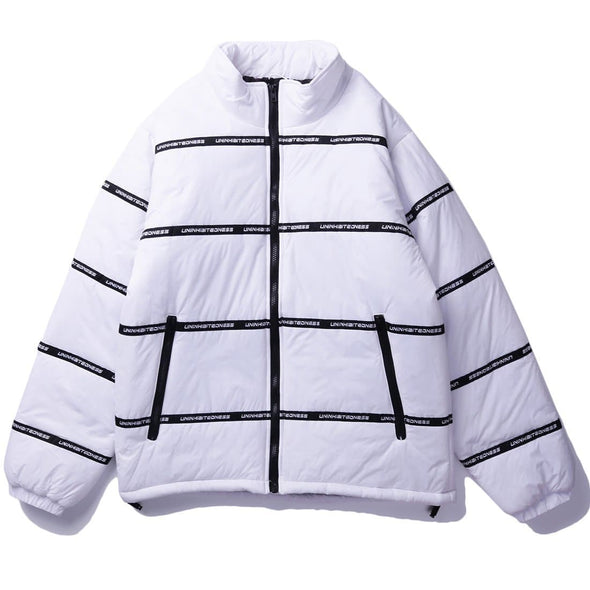 AE Striped Letter Street Cotton Coat
