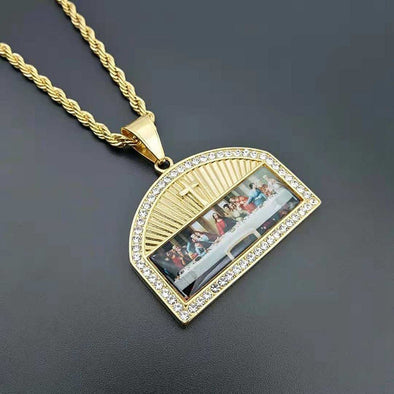 "AE ""The Last Supper"" NECKLACE"
